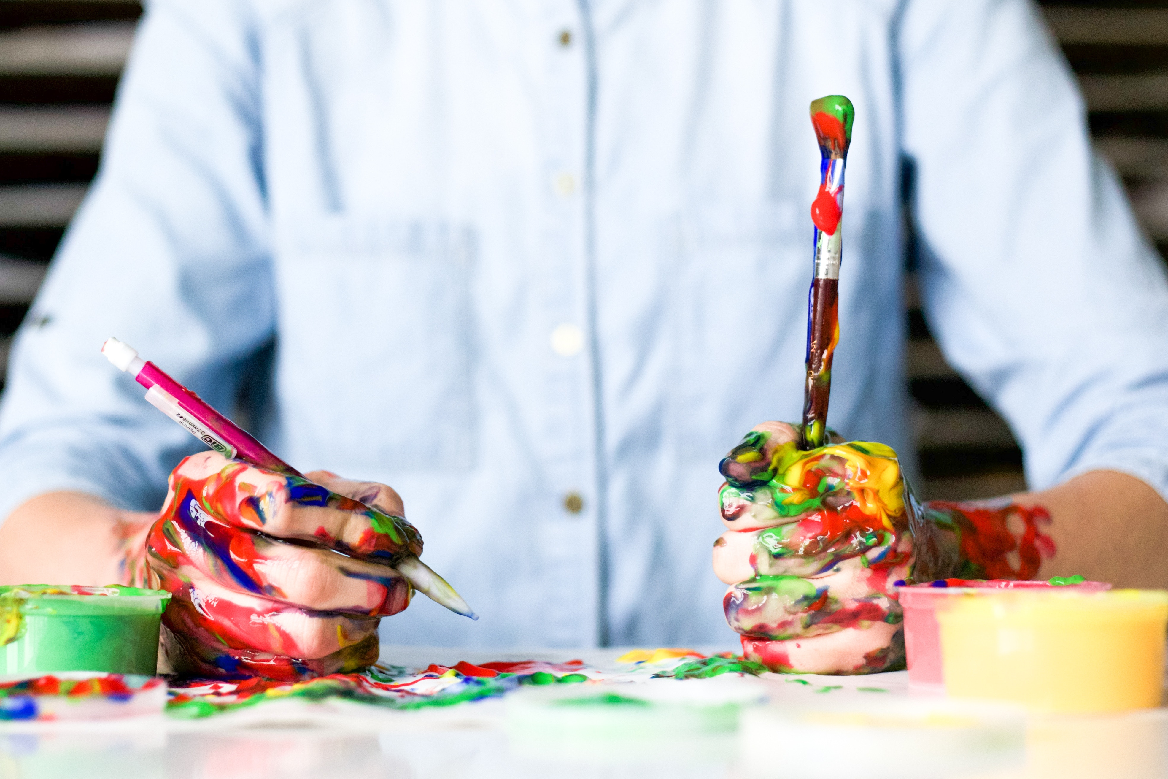 Farben beflügeln unsere Kreativität